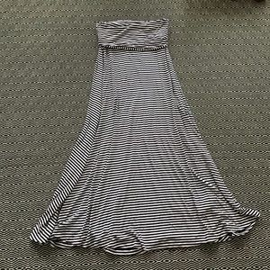 Gap Stripe Maxi Dress Skirt Medium